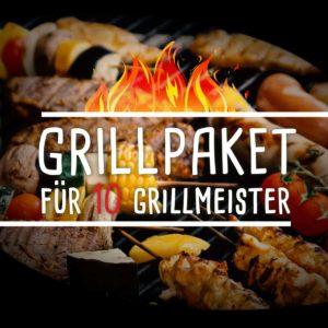 Grillpaket für 10 Grillmeister