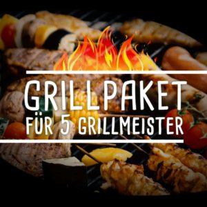 Grillpaket für 5 Grillmeister