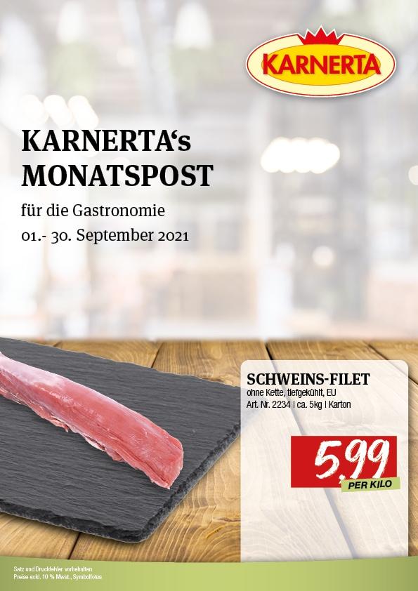 Karnerta Gastroaktion September